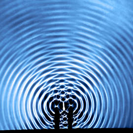 Circular Wave Systems by Berenice Abbott