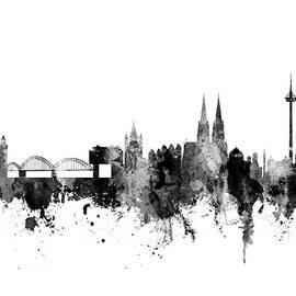 Cologne Germany Skyline - Michael Tompsett