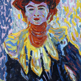 Ernst Ludwig Kirchner - Doris with Ruff Collar