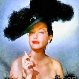 Frank Falcon - Dorothy Lamour, Vintage Hollywood Actress