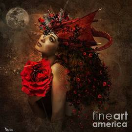Dragon Rose by Ali Oppy