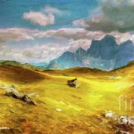 Dramatic Landscape by Sarah Kirk - Sarah Kirk