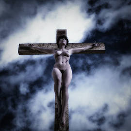 Ramon Martinez - Female Crucifix VI