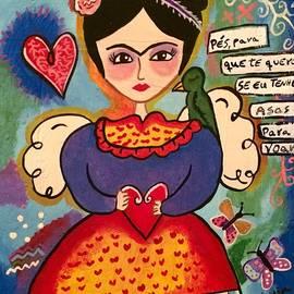 Frida Kahlo  by Claudia Leite
