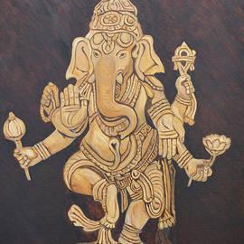 Blessing Ganesha by Ajay Harit