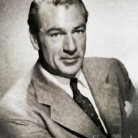 Gary Cooper, Vintage Actor by JS - John Springfield