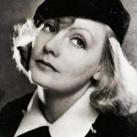 Greta Garbo, Vintage Actress by JS - John Springfield