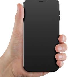 Hand Holding Cellphone - Allan Swart