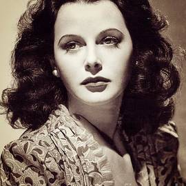 Esoterica Art Agency - Hedy Lamarr, Vintage Movie Star