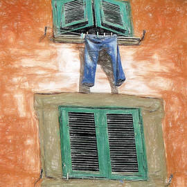 Hung Out to Dry by Sue Melvin