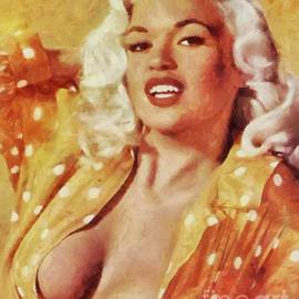 Mary Bassett - Jayne Mansfield Hollywood Actress and Pinup