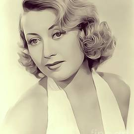 Joan Blondell, Vintage Actress - John Springfield