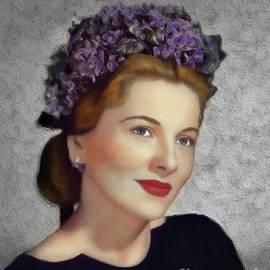 John Springfield - Joan Fontaine, Vintage Movie Star
