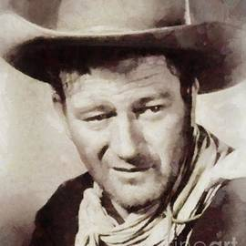 Sarah Kirk - John Wayne, Vintage Hollywood Legend