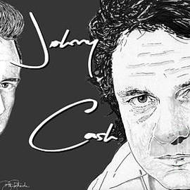 Johnny Cash by Bill Richards
