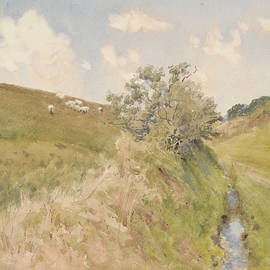 William Walker - Landscape with brook