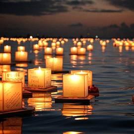 Jackie Dorr - Lantern Festival Waikiki Memorial Day 2014