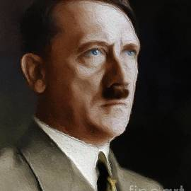 Leaders of World War Two Series - Adolf Hitler - Esoterica Art Agency