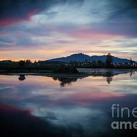 Lebanon Oregon Sunset by Nick Boren