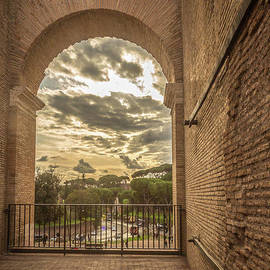 Rene Triay Photography - Looking out of the Roman Colosseum