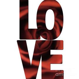 Love Word Art by Toula Mavridou-Messer