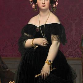 Madame Moitessier - Jean Auguste Dominique Ingres
