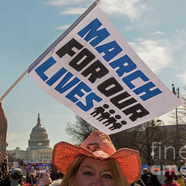 March For Our Lives by Jim West