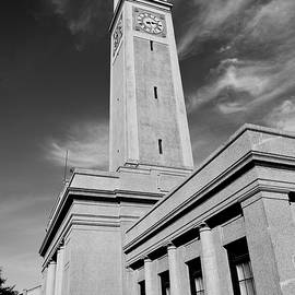 Scott Pellegrin - Memorial Tower - LSU BW