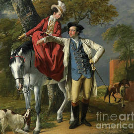 Mr and Mrs Thomas Coltman - Joseph Wright of Derby