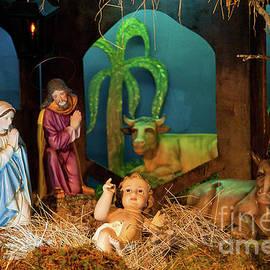 Gaspar Avila - Nativity scene