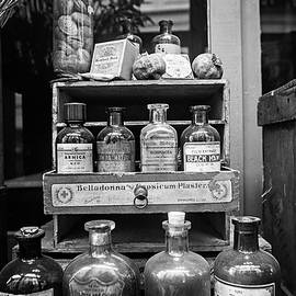 New Orleans Apothecary - BW by Scott Pellegrin