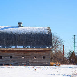 Old Barn In Idaho by Dart Humeston