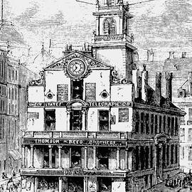 Old State House, Boston - English School