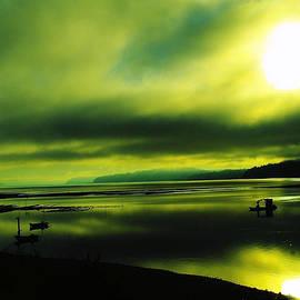On Golden Waters  by Jeff Swan