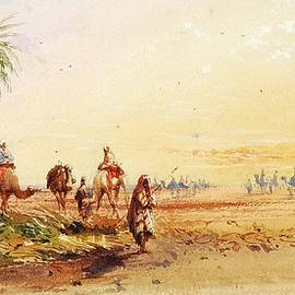 Thomas Hartley - On the road to Thebes
