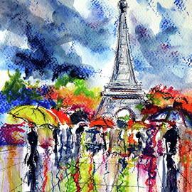 Kovacs Anna Brigitta - Paris in rain