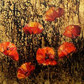 Nelu Gradeanu - Poppies In Gold
