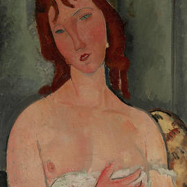 Amedeo Modigliani - Portrait of a Young Woman