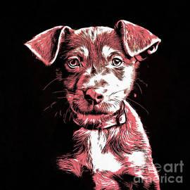 Puppy Dog Graphic Novel Drawing - Edward Fielding