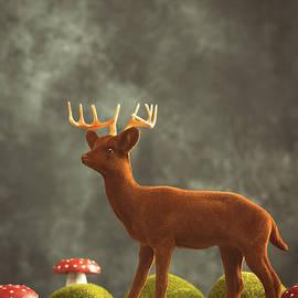 Reindeer Scene - Amanda Elwell