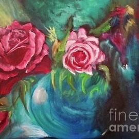 Jenny Lee - Roses One of a Kind Handmade