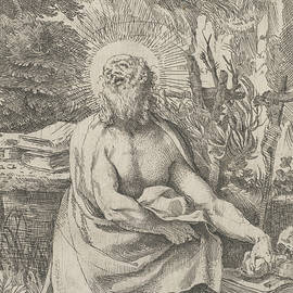 Saint Jerome in the Wilderness - Annibale Carracci
