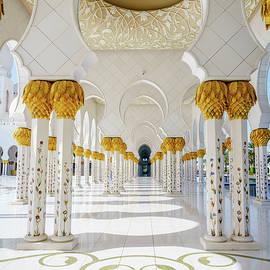 Sheikh Zayed Grand Mosque by Alexey Stiop