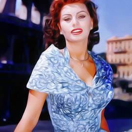 John Springfield - Sophia Loren, Vintage Movie Star