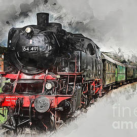 Ian Mitchell - Steam Train