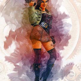 Ian Mitchell - Steampunk Girl
