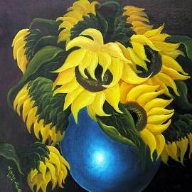 Vesna Martinjak - Sunflowers