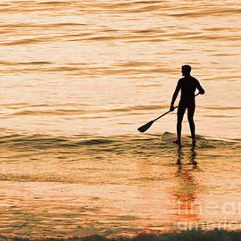 Steve Gass - Sunrise Paddler, York Maine