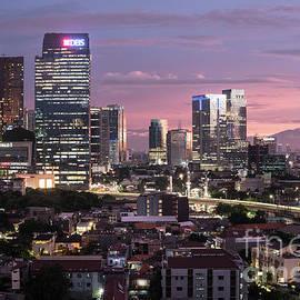 Didier Marti - Sunset over Jakarta skyline