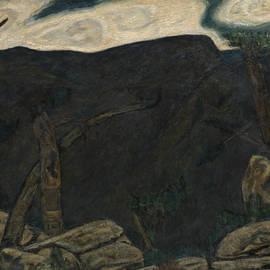 Marsden Hartley - The Dark Mountain, No. 2